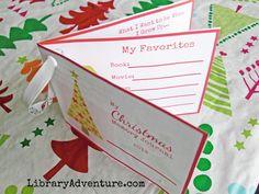My Christmas Memory Journal printable ornament top view