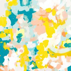 Leanne by Parima Studio // #abstract #art