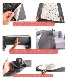 Tutorial que muestra el paso a paso para la confección de un portabebés Mei Tai