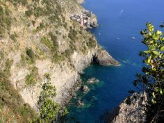 The Cinque Terre are five coastal villages in the province of La Spezia in the Liguria region of Italy. The coastline, the five villages, and the surrounding hillsides are all encapsulated in a national park by the same name.