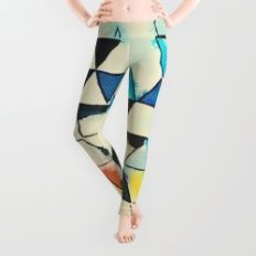 Geometric W1 Leggings