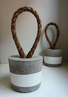 19 Crafts bonitas DIY cimento para incluir a diversidade ao seu interior uma decoração de usefuldiyprojects (4)