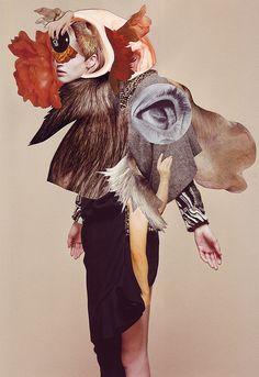 fashion collage illustration