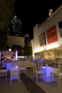 High Museum of Art in Atlanta offers a unique setting for an event