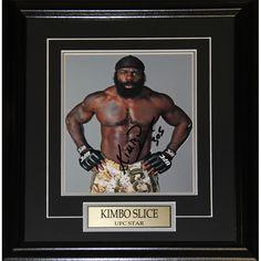 Midway Kimbo Slice UFC Signed 8x10-inch Frame