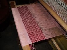 Huck Lace Table Runner- Woven by Holli Barber - Media - Weaving Today
