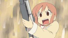 My Ordinary Life Gifs, Nichijou, Ordinary Lives, Normal Life, Manga Anime, Japanese, Cute, Fictional Characters, 4 Life