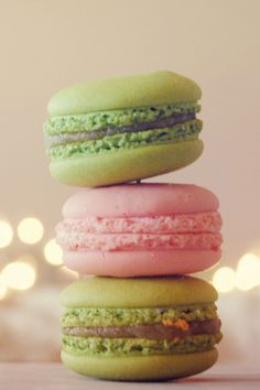 Preppy macarons>regular macarons. They.just.ARE.