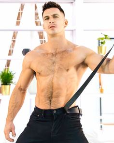 Paddy O'brian, Male Model, Good Looking, Beautiful Man, Guy, Wolf, Handsome, Hot, Sexy, Eye Candy, Muscle, Hunk, Armpits, Hairy Chest, Abs, Six Pack, Shirtless 男性モデル