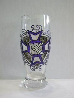 Kamelot beer glass by KamFan M.H.Chartrand (Quebec)