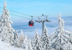 Mountain, Gondola Ski Resort Trolley Winter In The M Weekend Trips, Day Trips, Sky Resort, Ski Packages, Top Ski, Best Skis, Travel Tours, Sunset Photos, Winter Landscape