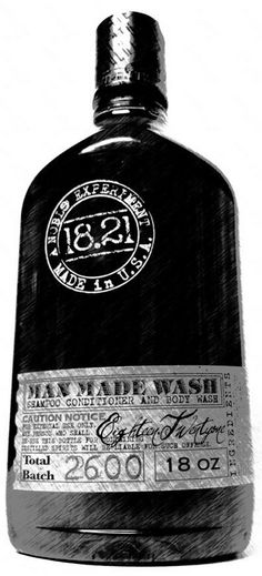 18.21 Man Made Shampoo and Body Wash