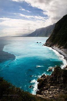 Chingshui Cliff, Hualien, Taiwan
