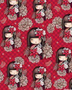 Nobuko Believe – Kimmidoll Kokeshi – Lacquer Red the more modern versions of little kokeshi… Nobuko Believe – Kimmidoll Kokeshi – Lack Rot die moderneren Versionen von kleinen Kokeshi … Decoupage, Asian Quilts, Chinoiserie, Anime Dolls, Kokeshi Dolls, Japan Art, Writing Paper, Cute Illustration, Inspirational Gifts