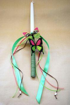 Easter candle - πασχαλινη λαμπαδα
