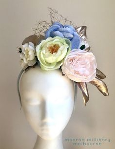 Spring Bouquet Floral Fascinator