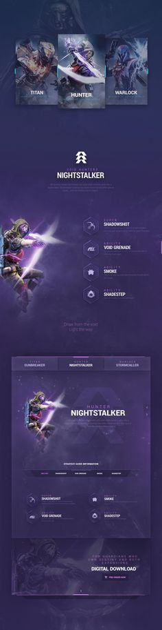 Destiny-Portal-on-Behance_03.png (1400×5421). If you're a user experience professional, listen to The UX Blog Podcast on iTunes.