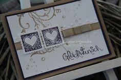 Hochzeitskarte ... Glückwunsch ... Einladung