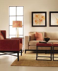 Bernhardt | Bernhardt Interiors Living Room Setting