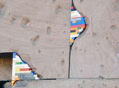 Artist Jan Vormann Uses Legos to 'Repair' War-Damaged Buildings