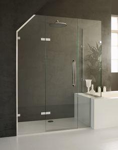 Mistley Made To Mesure Frameless Gl Shower Enclosure For Loft Conversion