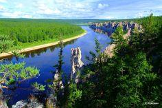 Якутская река Амга на прекрасных фото Юрия Коковина