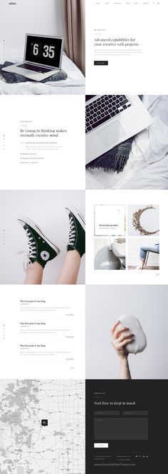 Nito is a clean & minimal 8 in 1 premium #PSD template for multipurpose #agency website. #webdesign Download Now!