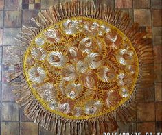 Antique Silk Hand Embroidered 'Matyo' Tablecloth dating to approx 1910's.    eBay