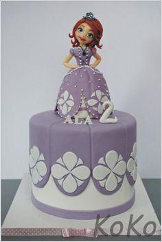 Sofia the first - Cake by KoKo
