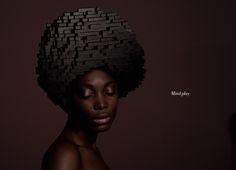 http://www.feeldesain.com/lego-wigs-hairdos-with-unlimited-creativity.html #hair #fashion #lego