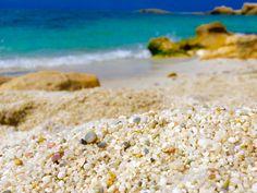 Is Arutas, quartz beach in Sardinia