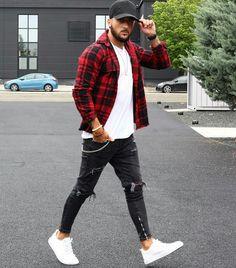 Como usar boné masculino - Dicas de moda masculina e guia de estilo para 2020 Stylish Mens Outfits, Casual Outfits, Men Casual, Casual Styles, Casual Wear, Smart Casual, Teen Boy Fashion, Mens Fashion, Fashion Guide