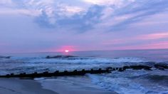 Need a relaxing way to start your day or get your mind off of your stress?  Take a 10 Minute sunrise break on LBI, NJ (+playlist)