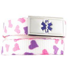 Happy Hearts Medical Alert Bracelets