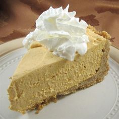 "Whipped Pumpkin Pie | ""I tried this recipe for a ""Friendsgiving,"" and everybody loved it. Instead of graham crackers, I smashed up 1 box of Vanilla wafers."""