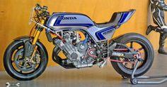 Honda CB750F racer