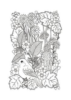 Digital Coloring Page 4