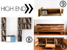Feature >> High End Record Storage