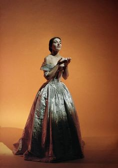 Maria Callas - an American soprano of Greek descent, she was one of the greatest opera singers of the 20th century.