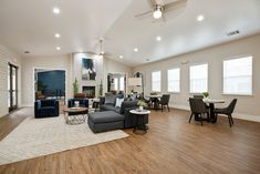 Hang out and watch TV with your fellow residents in our clubhouse. Pet Friendly Apartments, Floor Plans, Flooring, Watch, Tv, Table, Furniture, Home Decor, Clock