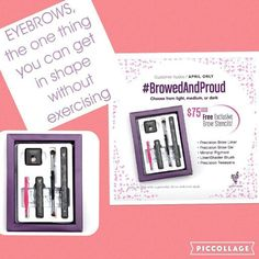 Perfectly shaped brows are an art and you can own it!  No one has to know how easily you got them with this months customer Kudos! Turn heads and leave them talking with the Browed and Proud Kit!  Youniqueproducts.com/Shera  #YouniqueByShera #brows #makeup #cosmetics #customer #cosmetics #beauty #younique #flawless #exercise #myfavorite #usa #canada #mexico #uk #newzealand #australia #germany #france #spain