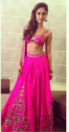 Bollywood Fashion #Lehenga Choli @http://www.maalpani.com/latest-arrivals.html