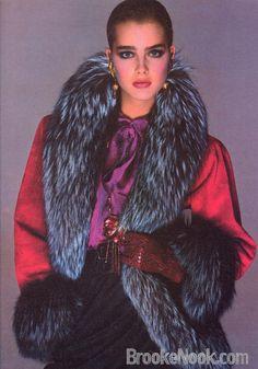 Brooke Shields by Richard Avedon for Vogue, 1980.