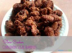 Slow Cooker Cinnamon Sugar Almonds