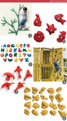 mur d'escalade dans une chambre d'enfant Climbing Wall Kids, Baby Information, Kids Bedroom Designs, Indoor Play, Play Spaces, Baby Play, Happy Kids, Kids Decor, Fun Learning