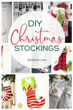 Never has there been a better time to begin a Christmas project than July. Darling Christmas stockings for you to make yourself... that makes them extra special! #diychristmasstockings #diystockings #christmasstockings #christmascrafts #stockings All Things Christmas, Christmas Fun, Christmas Decorations, Holiday Decorating, Diy Stockings, Christmas Stockings, Christmas Projects, Holiday Crafts, Holiday Recipes