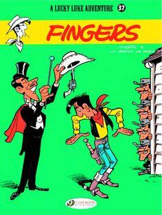 Lucky Luke #TPB Vol37: Fingers #Cinebook #LuckyLuke (Cover Artist: Morris) On Sale: 10/23/2013