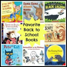 From Ready Set Read, a nice selection of picture books and activities to ease first day back to school anxieties.