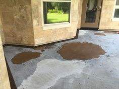 If You Have Concrete As Bad As This, Epoxy Pebble Stone Is An Incredible  Solution