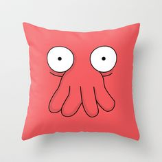 Dr. Zoidberg Throw Pillow by Bill Pyle - $20.00